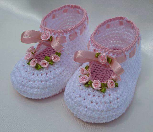 Crochet Zapatos Bebé