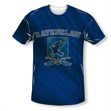 f4eea2b1b Join the team with our exclusive personalized Ravenclaw crest adult  Quidditch jersey style t-shirt! Select your number and then add your very  own name to ...