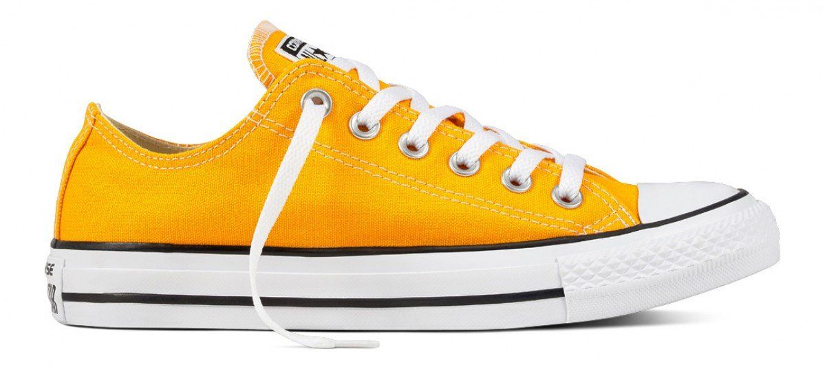CONVERSE CHUCK TAYLOR ALL STAR LOW TOP ORANGE RAY | Converse ...