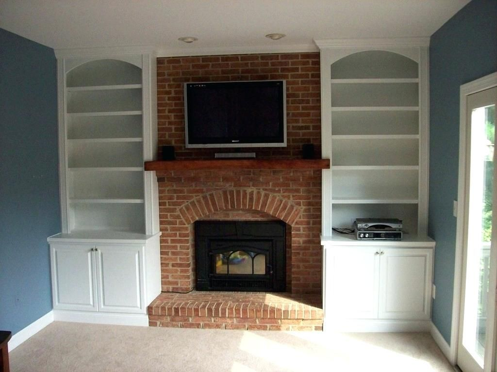Image Result For Diy Built In Fireplace Cabinets Decoration Ideas