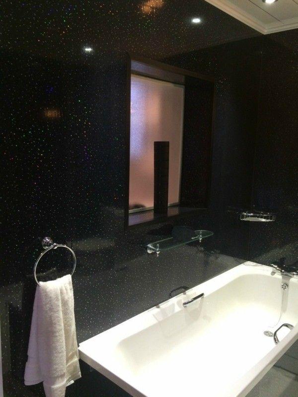 schwarzes badezimmer 5 vorteile und 50 ideen - Schwarze Badezimmer Ideen