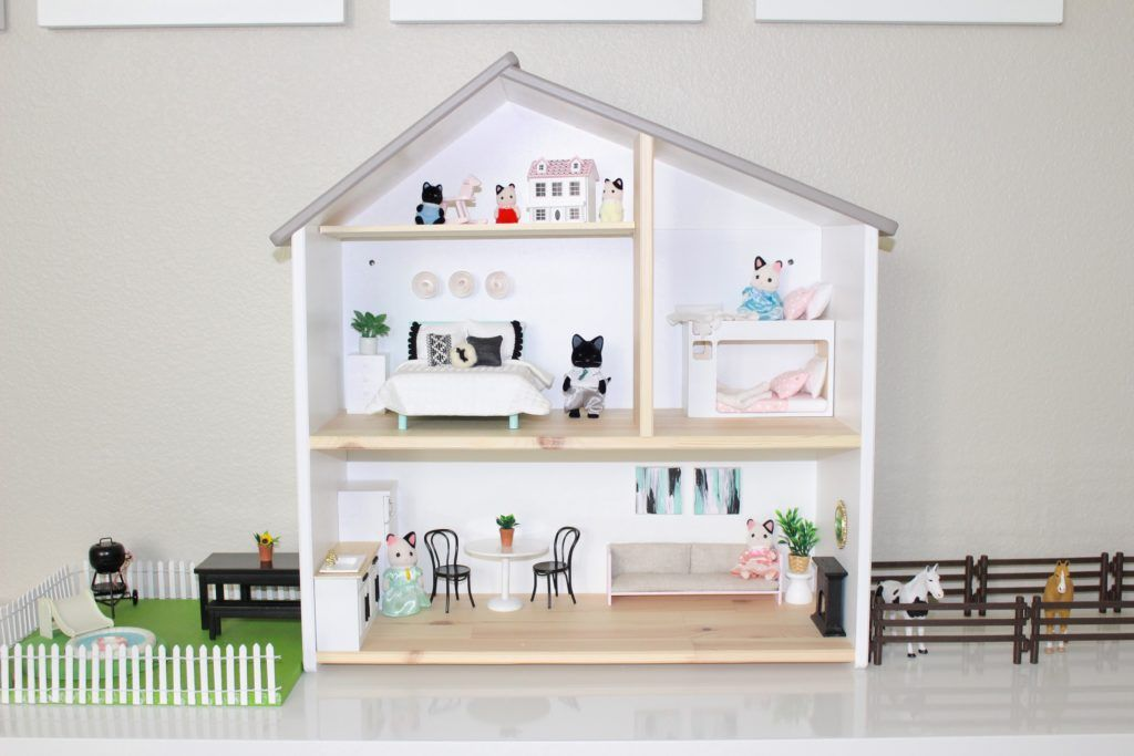 ikea dolls house furniture kitchen project nursery ikea flisat dollhouse hack pretty in pastels playroom pinterest playroom dolls