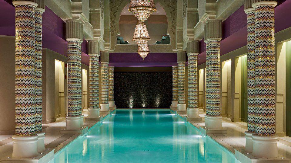 Kemetic Pool Ancient Egyptian Indoor Pool Aswan Luxury Hotel