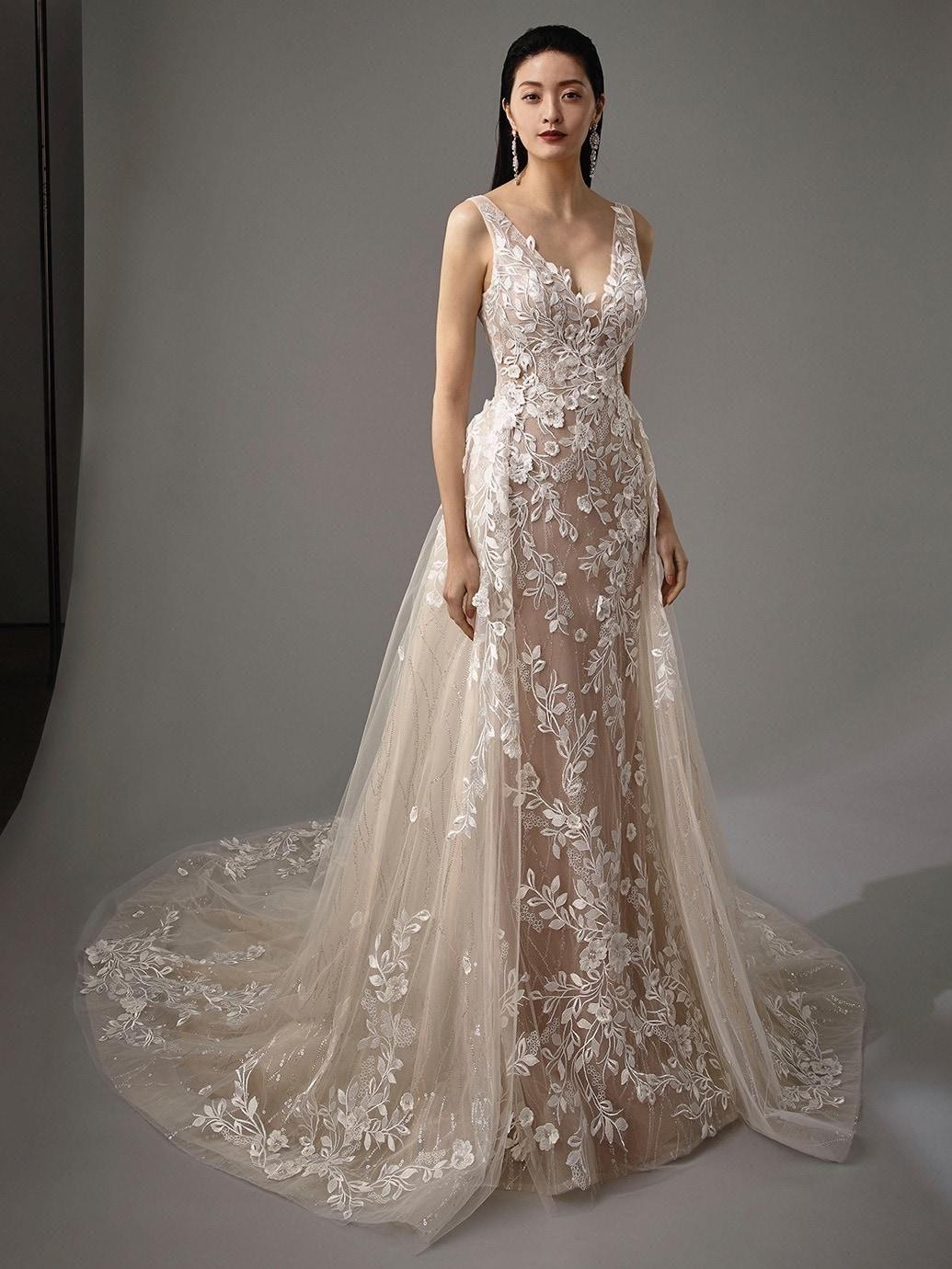 Hochzeitskleider - Bilder-Galerie und Brautkleider-Trends  Blaue
