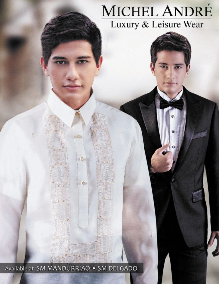 yoe, barong or suit? :)   Temp   Pinterest   Groom attire and ...