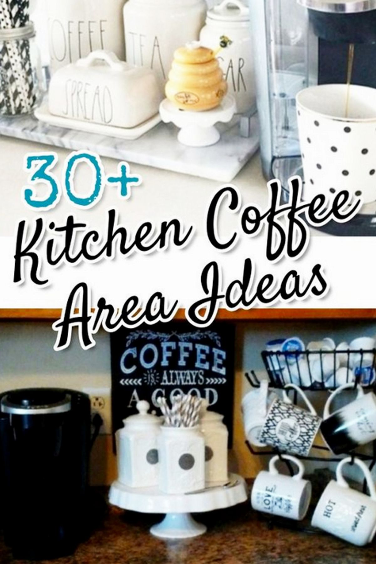 My Coffee Bar In My Kitchen Is Def The Highlight Of My Morning Farahmerhi Check Out My Personal Page For Sou Diy Kitchen Decor Coffee Bar Home Kitchen Decor