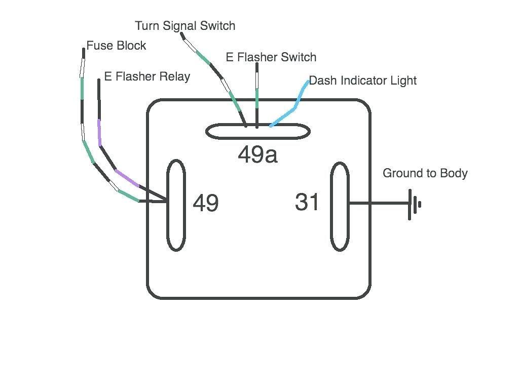 warn winch switch diagrama de cableado