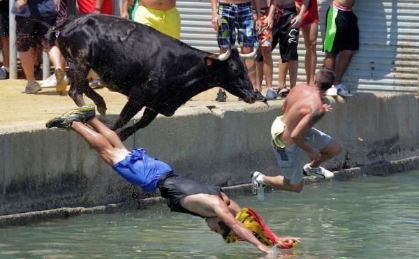 Around The World In 10 Photos Running of the bulls