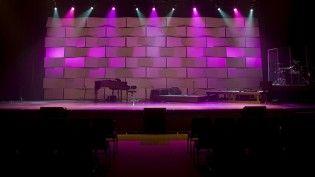 Taste The Rainbow Church Interior Design Stage Design