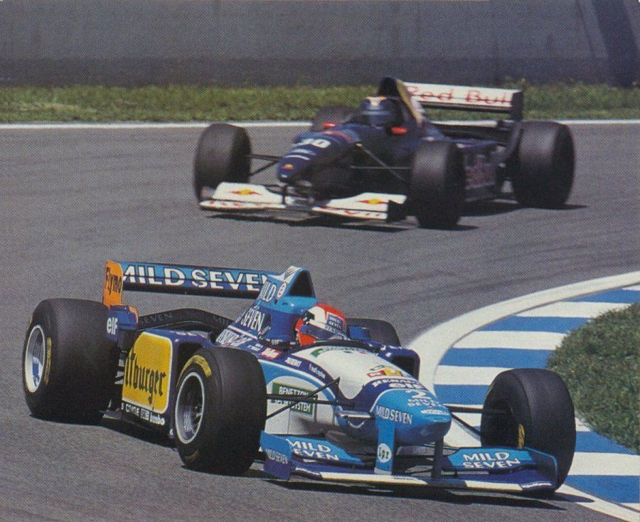 Johnny Herbert - 1995 - Benetton - Montemelo