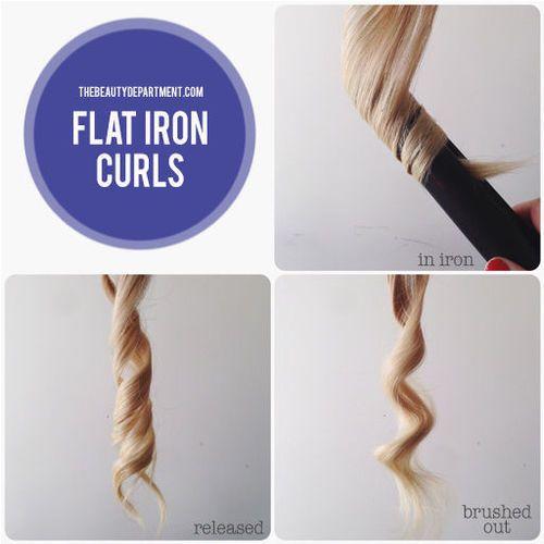 ストレートアイロンで簡単ゆるふわ 5種類の巻き髪ウェーブ ヘア