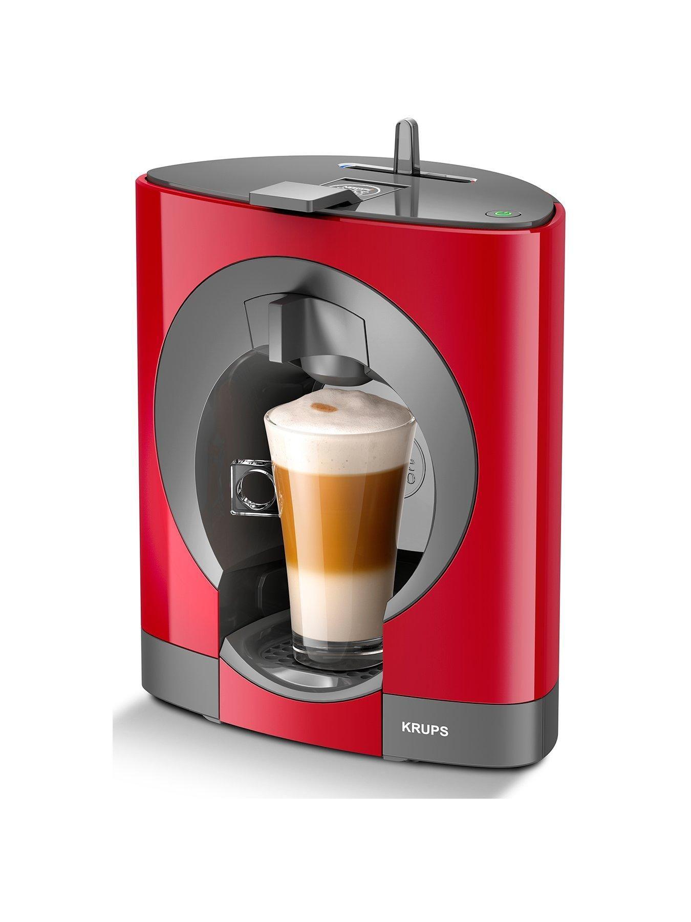 NESCAFÉ® Dolce Gusto® Oblo Manual Coffee Machine Red in