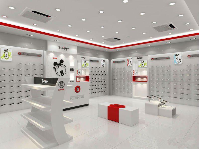 competitive price f3ff8 b800f Ropa para niños de dibujos animados zapatos display vitrina tienda de diseño