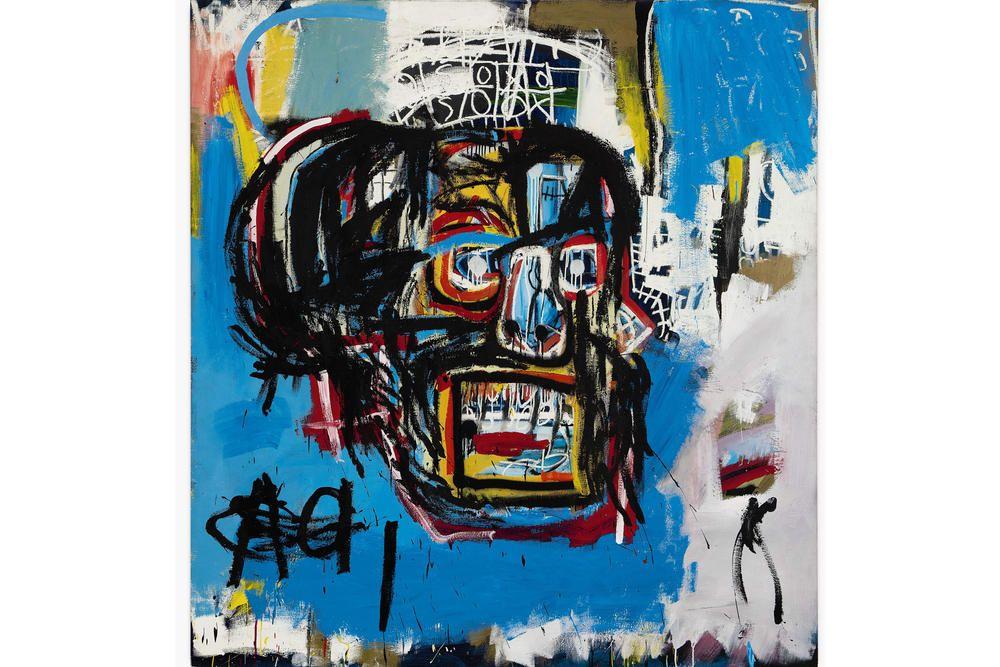 Basquiat Skull /& Face Art Custom Framed poster prints 28x28 Inches Each