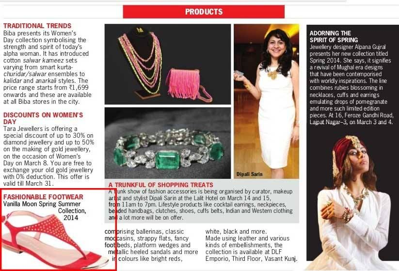 Our Studded Red Beauty Makes Way To The Pages Of Sunday Standard Check It Out With Images Traditional Trends Ladies Day Cotton Salwar Kameez
