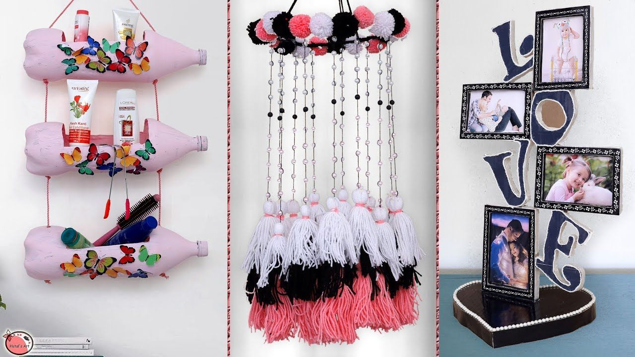 How To Decorate Your Home Youtube Art And Craft Videos Easy Diy Art Cute Crafts