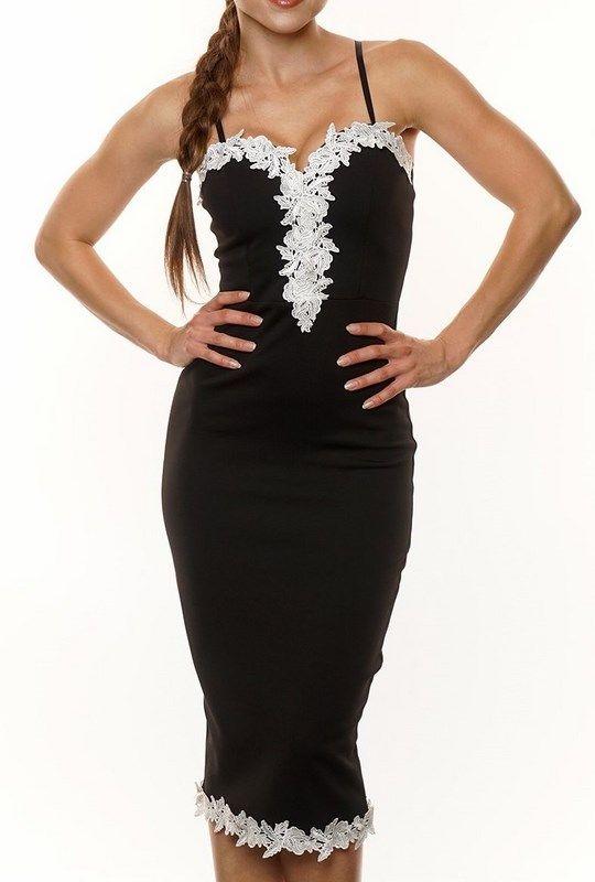 7f5c2782e1b6 Dámske šaty Tyra čierne