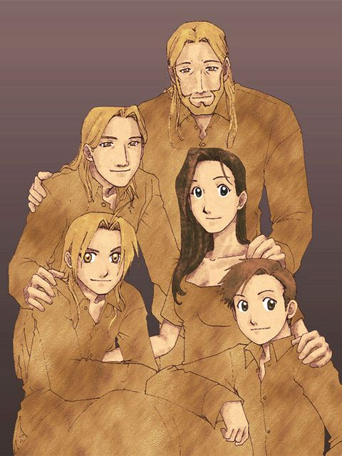 full metal alchemist fanart. one of the best story ever!