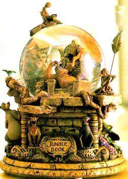 Disney Snowglobes Collectors Guide: Jungle Book
