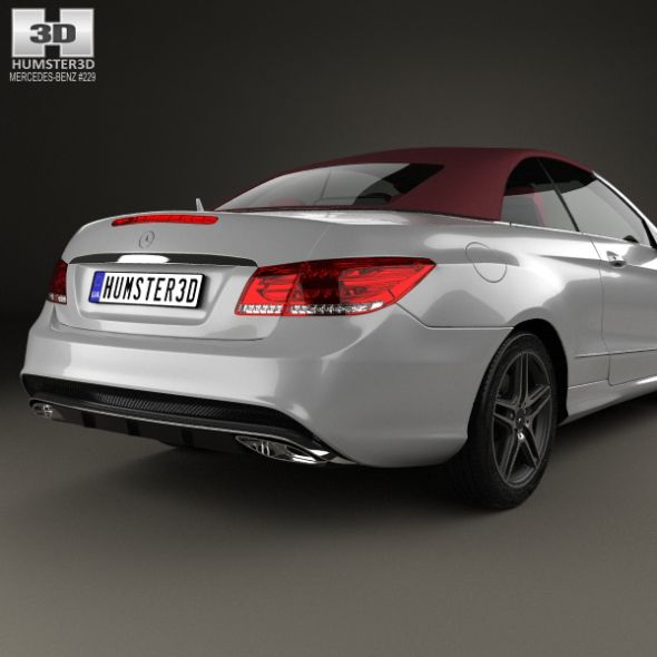 Mercedes-Benz E-Class Convertible AMG Sports Package With