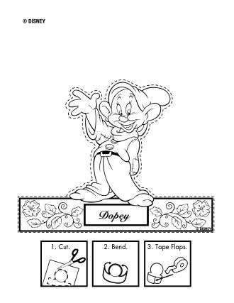 Disney Snow White Printables, Coloring Pages and