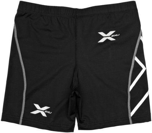 2XU Men s Compression 1 2 Shorts (Black Black bd383c317