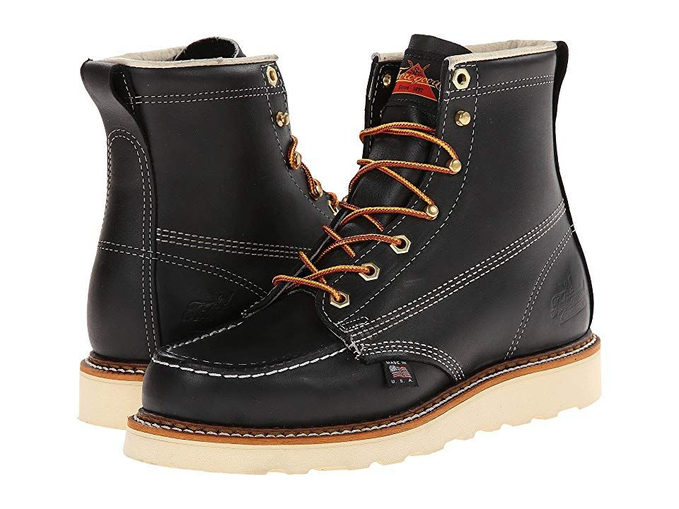 Black Moc Toe in 2020   Work boots men
