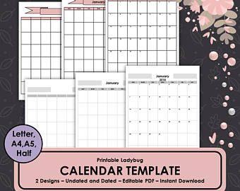 Calendar Template CalendarMonthly CalendarMonthly Planner