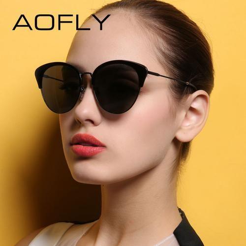 e350b2bdaa AGM Fashion Women s Sun Glasses B. AGM Fashion Women s Sun Glasses B Cat  Eye Sunglasses ...