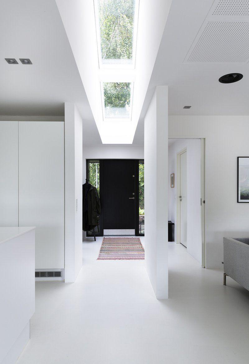 Entryway window ideas  kunstigt åndedræt til typehuset  danske boligarkitekter