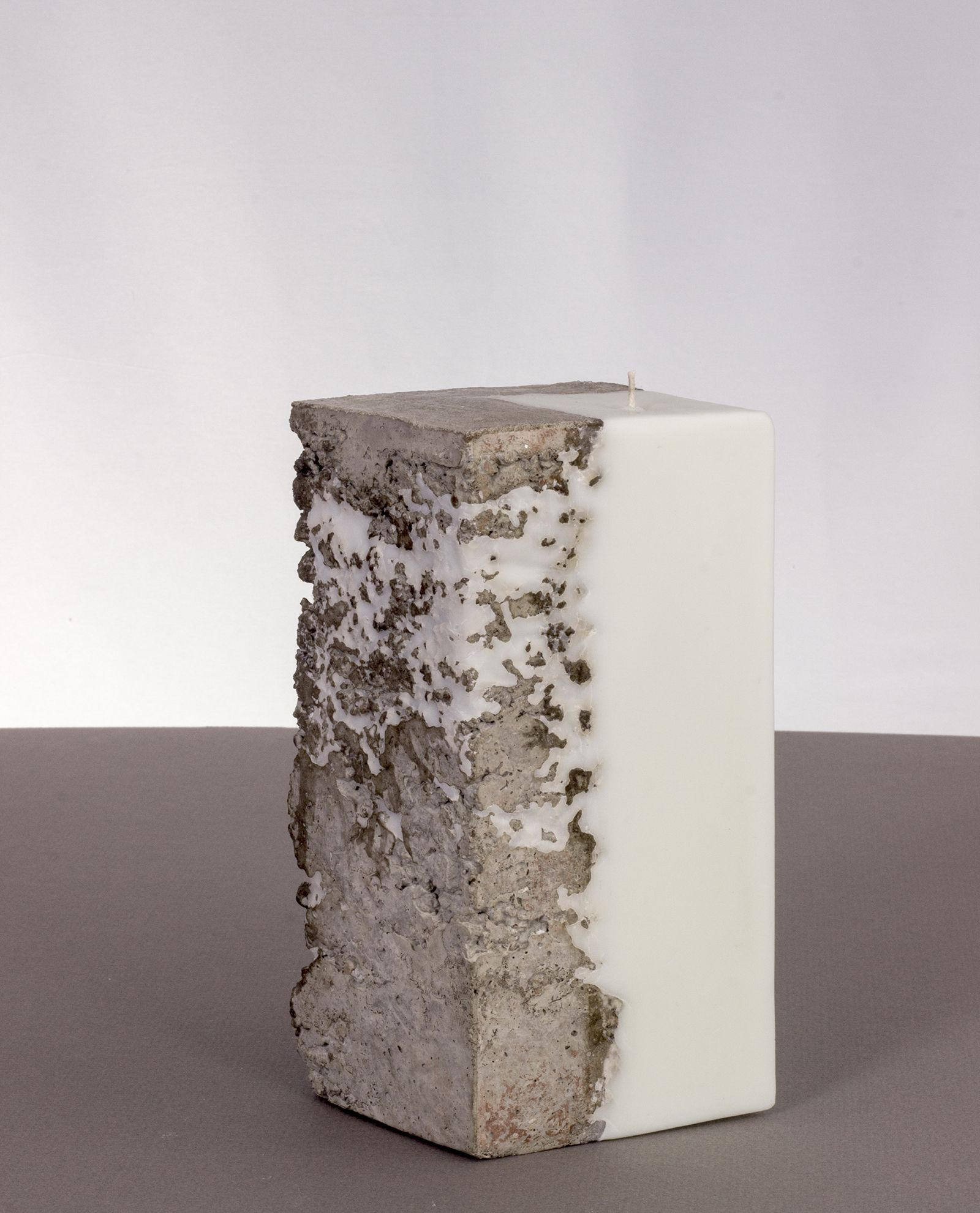 Diamond Shaped Concrete Candle. Beton DiyWachsSelber ...