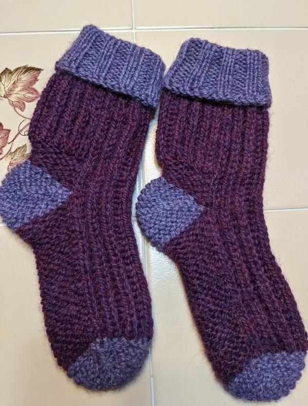 Diabetic Bed Socks by Kelley Hobart | Bed socks, Sock ...