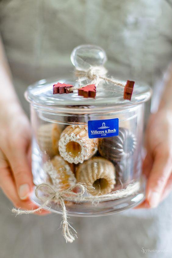 Geschenke aus der Kche Dreierlei MiniGugl im Glas fr