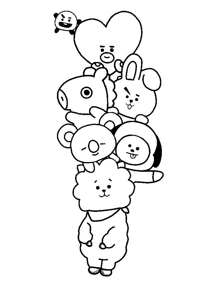 Pin by Simone Joseph on BT21 in