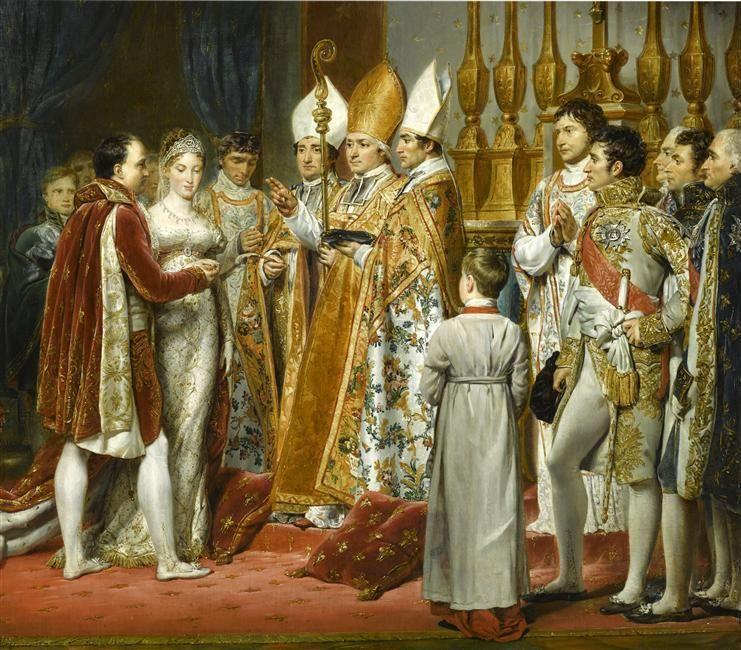 French Emperor Napoleon Bonaparte Defeated Vienna And The Habsburg Empire Twice During His Expansion Across Europe Desc Napoleon Napoleon Josephine Castle Art