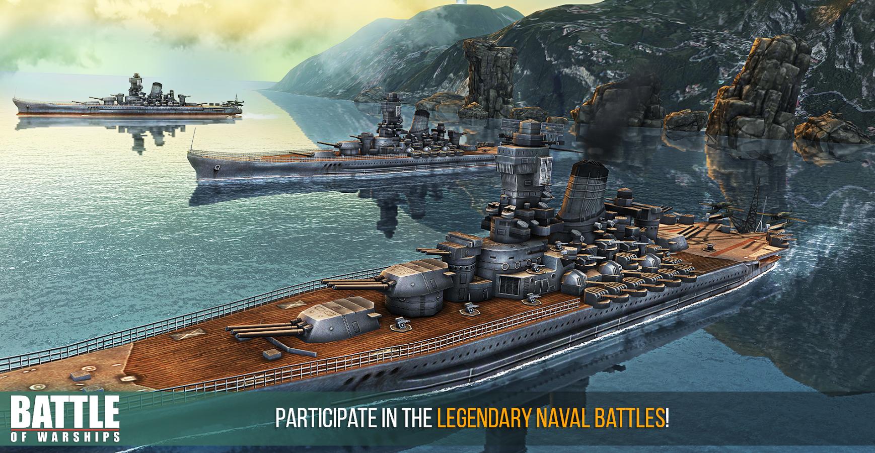 Battle of Warships on PC - Windows / Mac - Download & Install   Battle of  warships, Warship, Warship battle