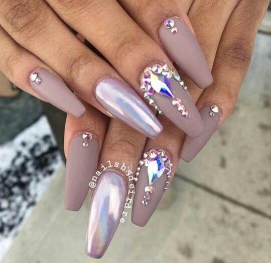 Pin by Leyi Glam🍧 on Nails   Pinterest   Nail nail, Makeup and Prom ...