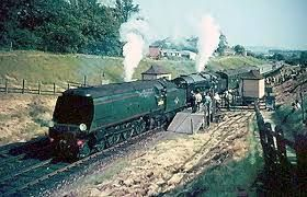 Image result for waterloo station steam trains photos