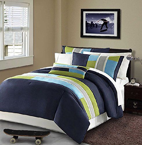 Navy Blue Bedding Sets and Quilts | Comforter, Dorm and Modern : boys quilt set - Adamdwight.com