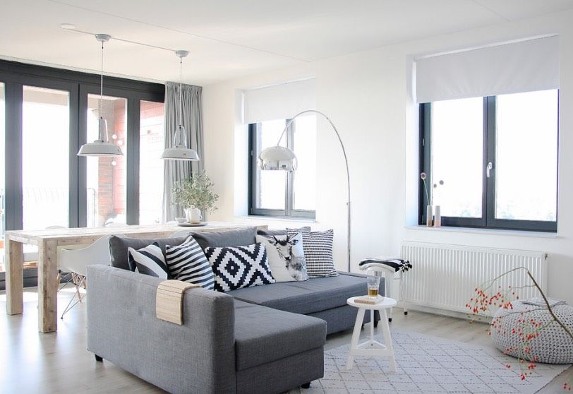 Decorating A New Apartment Requires A Little Pre Planning These Apartment Decorating Ideas Come With A Basic Shopping List To Ge Scandinavian Design Living Room
