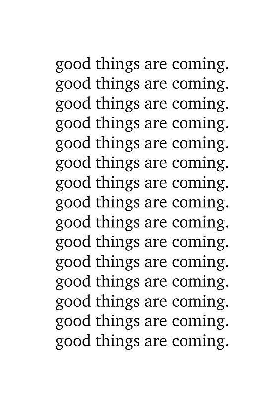 Good things are coming. / Our little love dwelling filled with thoughts, dreams late night love notes. / If you covet chic, yet affordable, high quality, statement art;