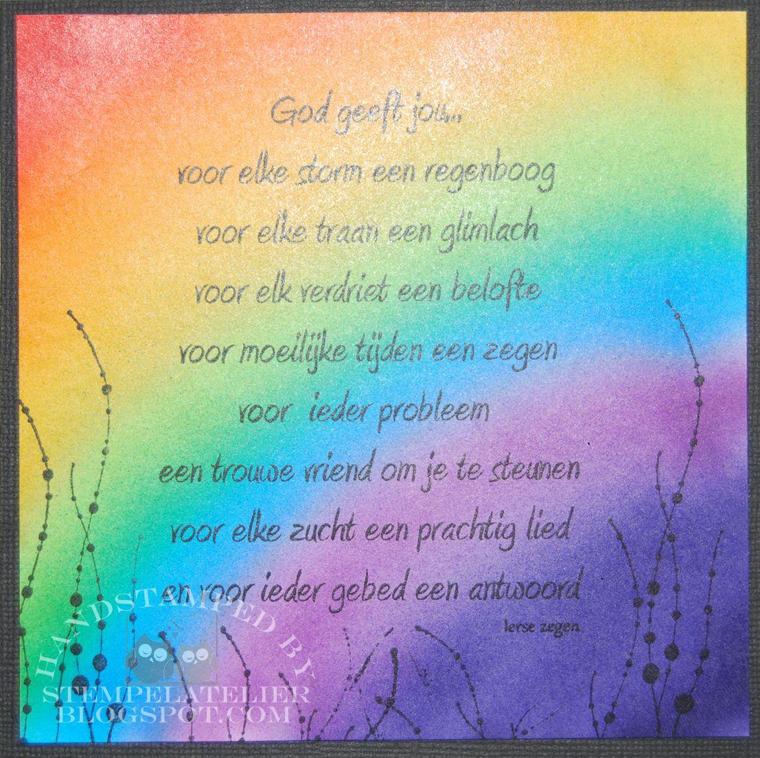 Citaten Zoeken Op Trefwoord : Gedicht regenboog christelijk google zoeken teksten