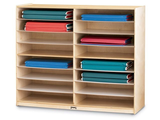 Rest Mat Or Yoga Mat Storage Cubbies Keep Your Fitness Or