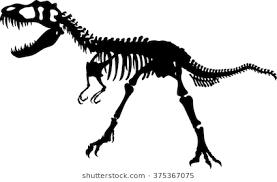 T Rex Silhouette Google Search Skeleton Silhouette Moose Art Humanoid Sketch