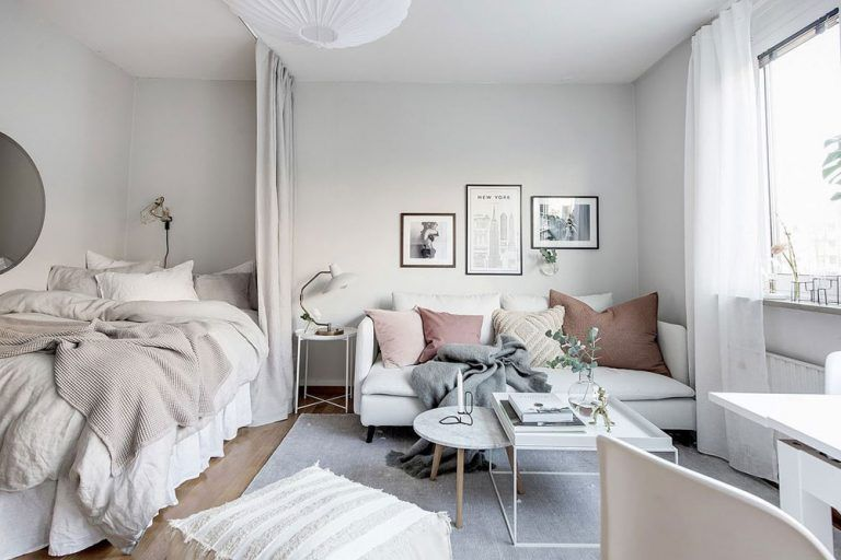15 Stylish Ways To Decorate A Studio Apartment images