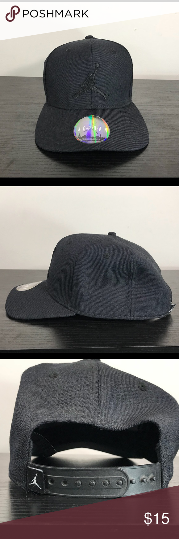 344a4654201 Nike Air Jordan Jumpman Snap Back Fitted Hat Black Hello Everybody!! I m