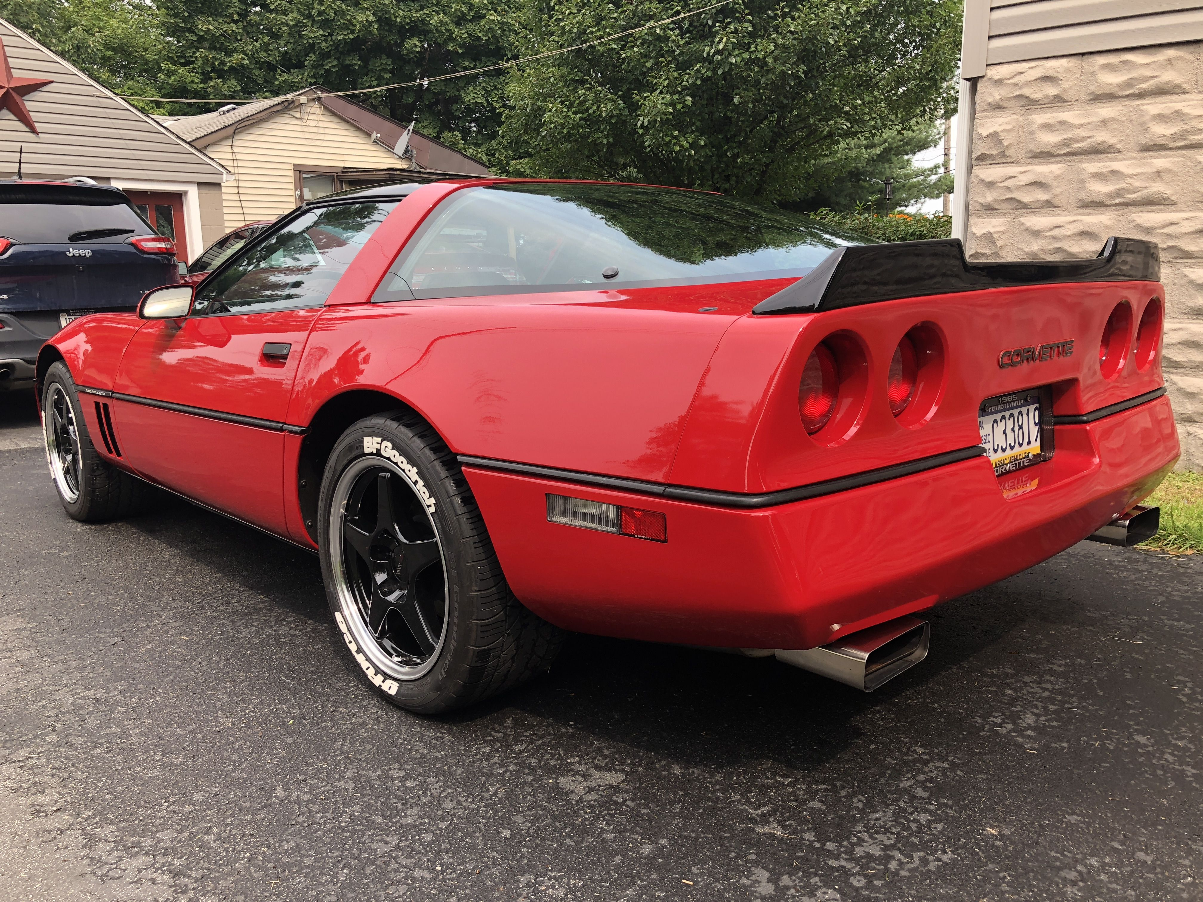 More Wing Cheap Sports Cars Corvette C4 Corvette