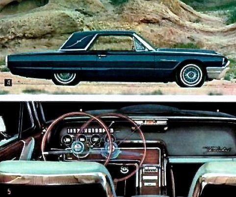 1964 Thunderbird Landau With Images Thunderbird Car Old