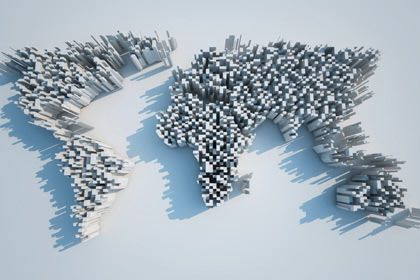 3d World Map Idee Thuis