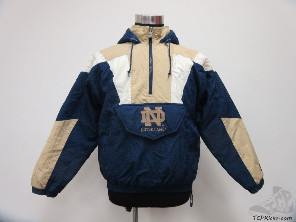 Navy Notre Dame Fighting Irish Starter jacket